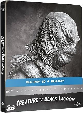 【Amazon.co.jp限定】大アマゾンの半魚人 60周年アニバーサリー スチールブック仕様 ブルーレイ(2D/3D) [Blu-ray]