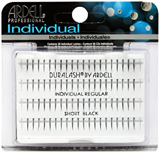 Ardell Dural Ash Individual Regular Short Eye Lashes, Black