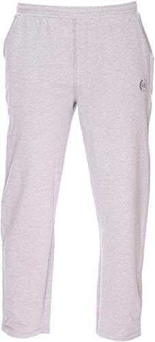 Ahorn Pantalon Grande Taille gris Coton