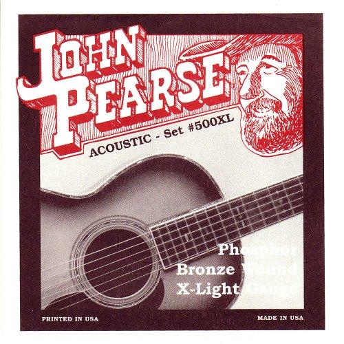 John Pearse Phosphor Bronze Acoustic Guitar Strings10-47