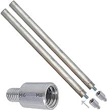 2 x magnesiumanoden 22 x 350 mm voor thermo-elektrische thermo-elektrische verwarming + 2 adapters voor verschillende schr...