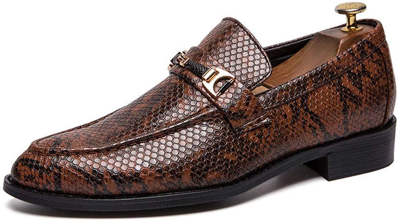 Dilunsizrf Schlangenleder Schuhe Herren Freizeitschuhe Mode Schuhe Wilde Wilde Schuhe  Kunden zuerst