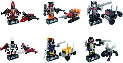 Transformers Kreo Micro Changers Minifigures Mystery Packs- Bundle of 6 Mystery Packs from Collection 3
