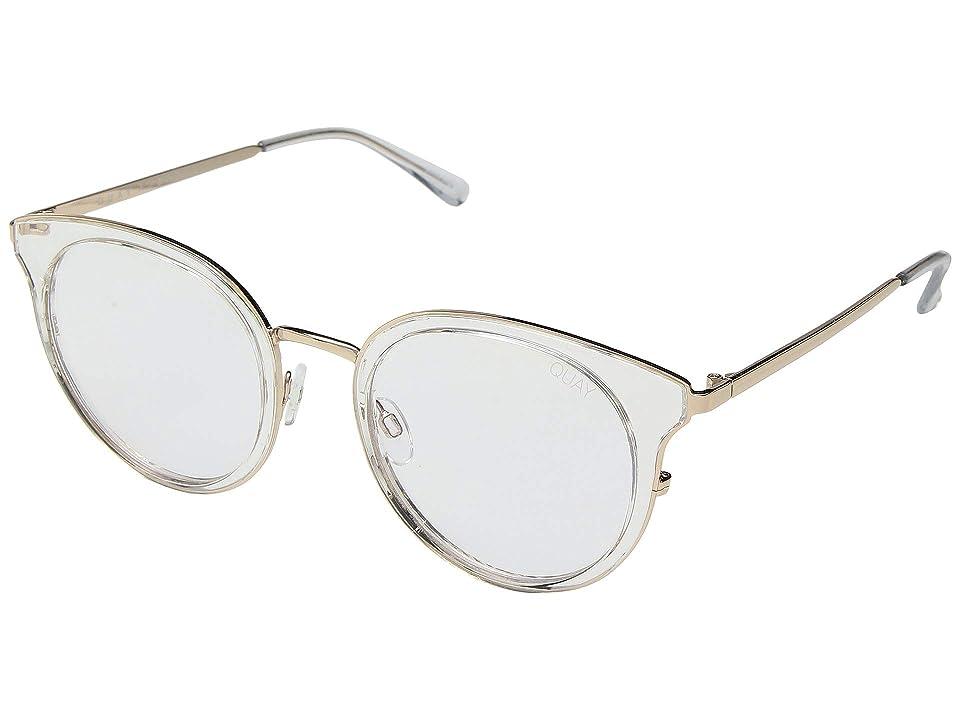 QUAY AUSTRALIA Cryptic (Clear/Clear Blue Light) Fashion Sunglasses