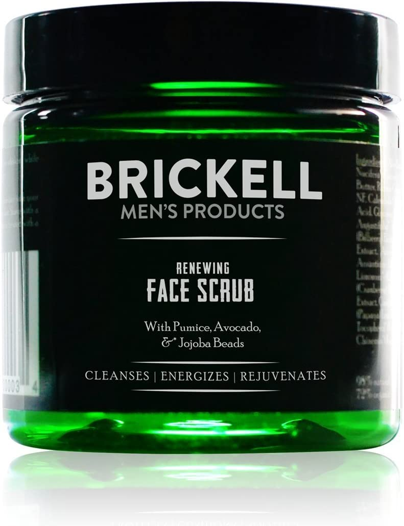 Brickell Men's Products - Renewing Face Scrub