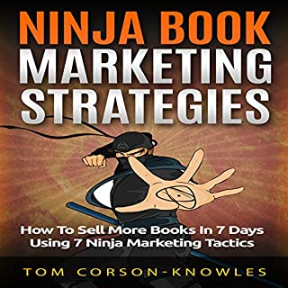 Ninja Book Marketing Strategies audiobook cover art