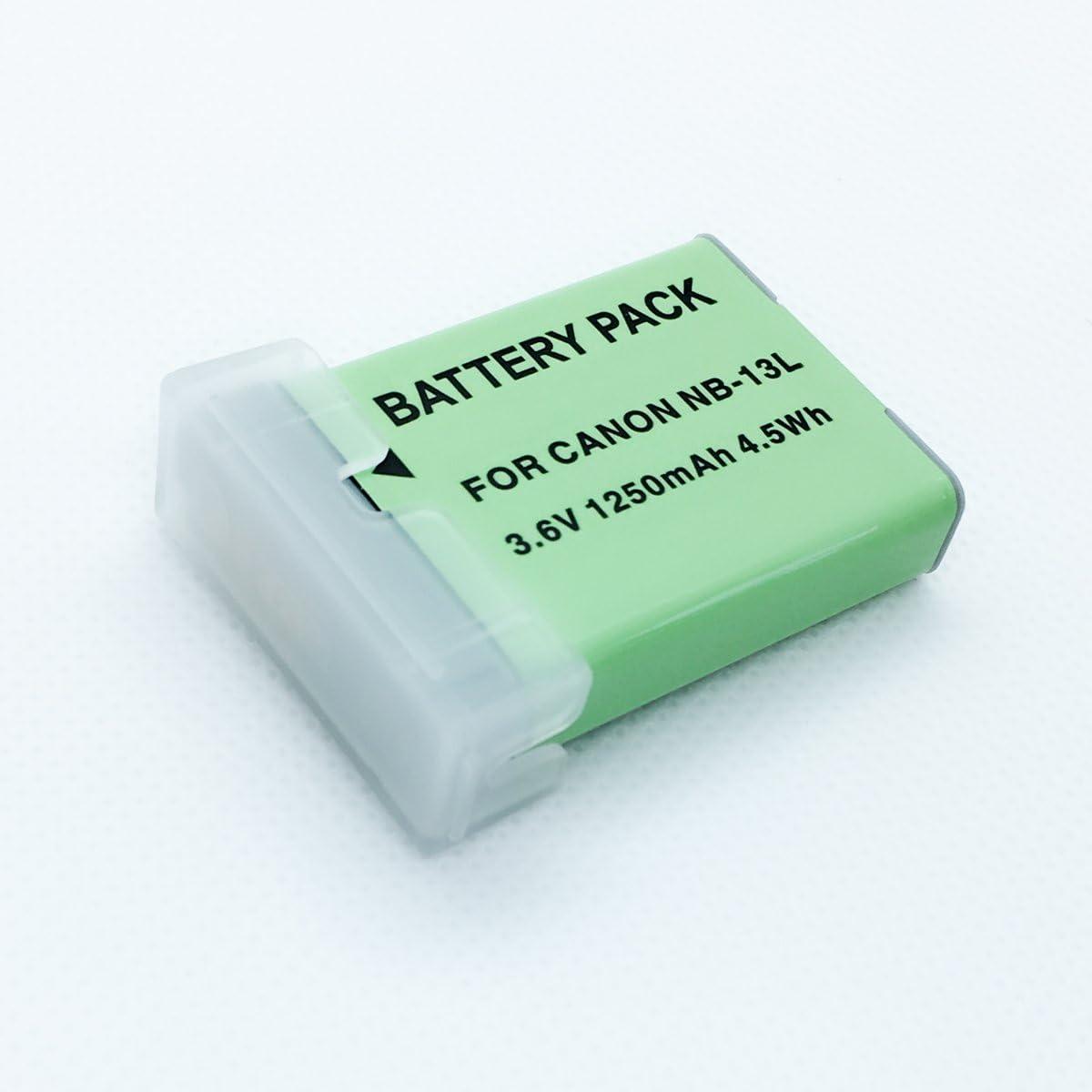Batteries 2 unisex Pack for Canon PowerShot Sale price G7 Mark G X G5 II