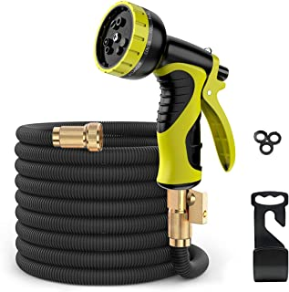 ERAY 50 Feet Expandable Garden Hose, Durable and Lightweight Expandable Water Hose for Car Wash Cleaning Heavy Duty, 10 Mo...