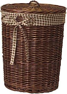 SMEJS Paniers de rangement tissés très grands, panier de couverture décoratif, à utiliser for les plaids, les oreillers, l...