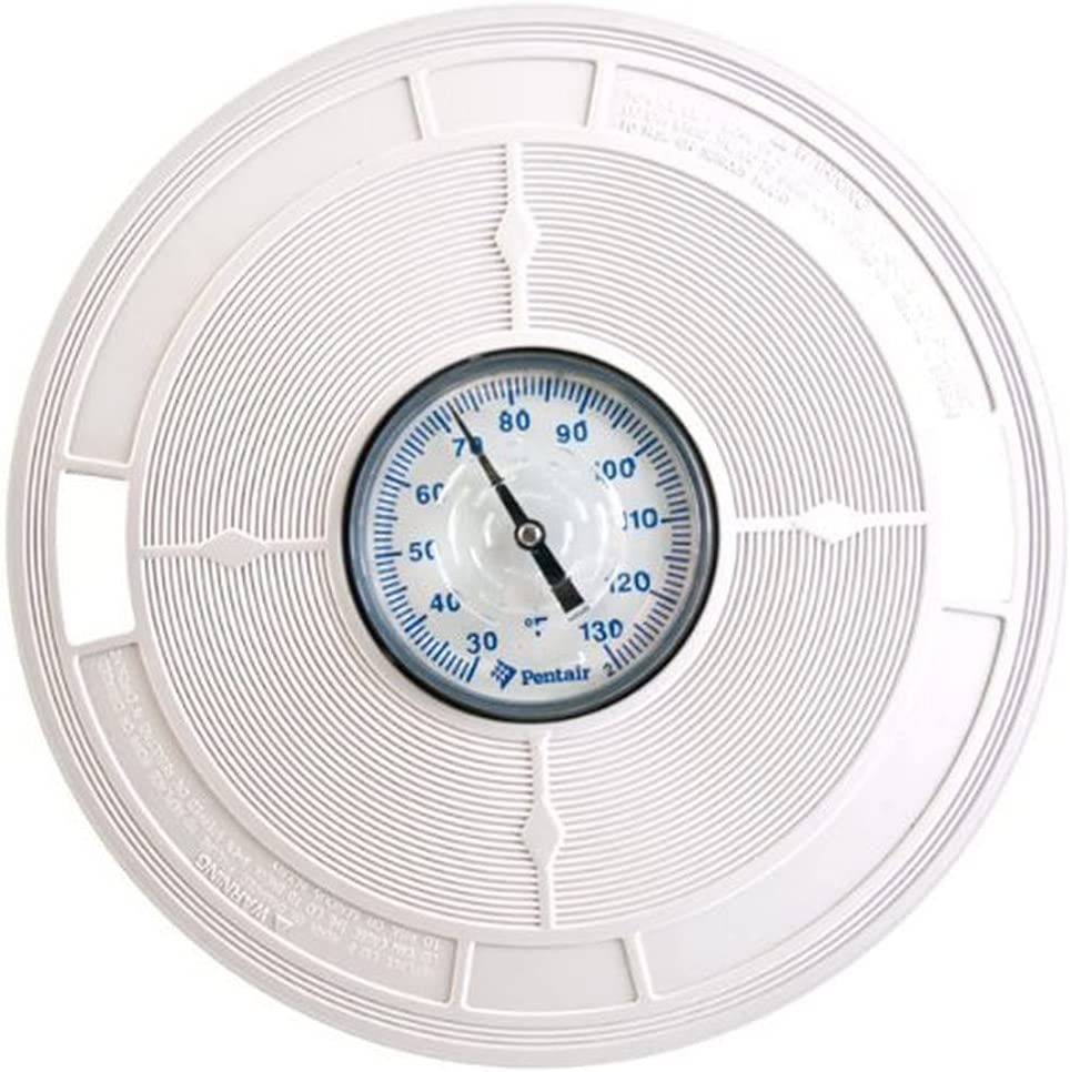 Pentair L1 White 9-7 depot 8-Inch LID with Replacement Thermometers Po Sale price