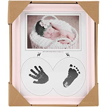 deco bebe cadeau bebe empreinte de b/éb/é fait un parfait souvenir et un cadeau de douche de b/éb/é Joyeee kit empreinte b/éb/é #4 Cadre b/éb/é