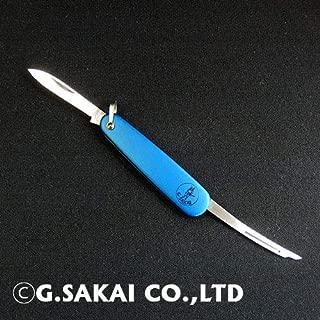 ジー・サカイ(G・SAKAI) ナイフ 折りたたみナイフ ジョーカー ブルー 11183