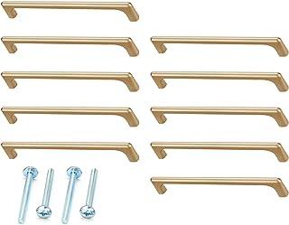 LUOFEIYU 10 stuks ladegrepen lengteed meubelgreep kastdeurgrepen van zinklegering deurgrepen voor kast, keuken en kast, de...