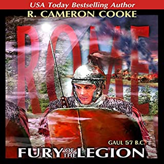 Rome: Fury of the Legion audiobook cover art