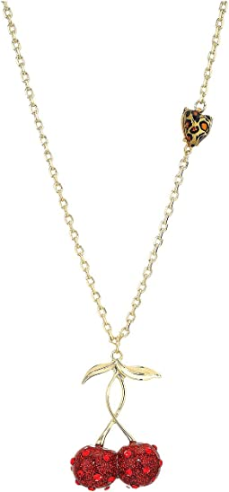 Cherry Necklace Pendant