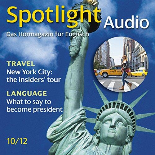 Spotlight Audio - New York City: the insiders' tour. 10/2012 cover art