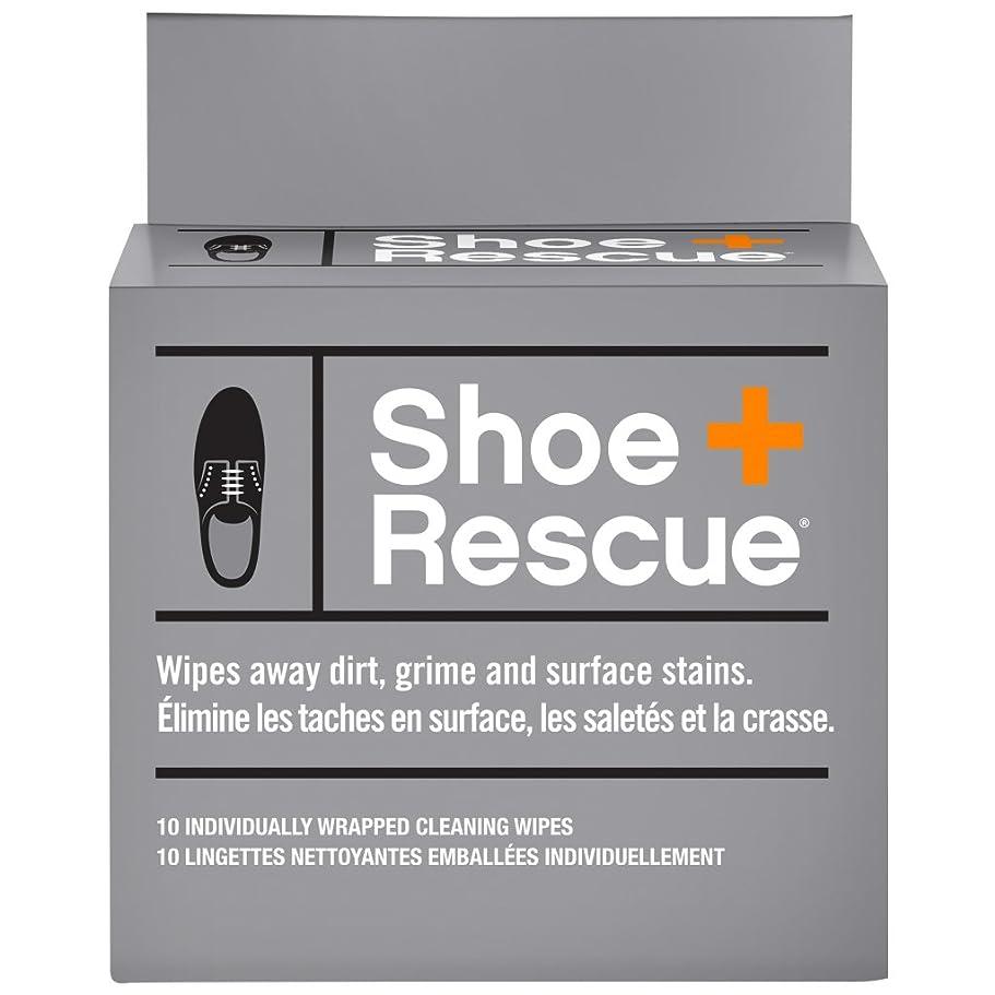 欠伸甥十億ShoeRescue オールナチュラル クリーニングワイプ レザー&スエードシューズ&ブーツ用 土 塩 シミ