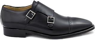 Première Maison Chaussures Classiques en Cuir pour Homme avec Double Boucle