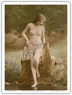 vintage french nude postcards