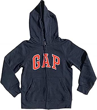 GAP Boys Fleece Arch Logo Zip Up Hoodie