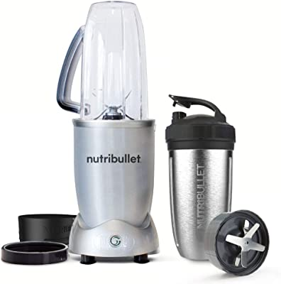 NutriBullet 01410 1200 Series Blender, Stainless Steel
