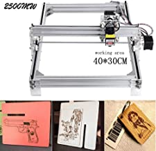 2500mw CNC Laser Engraving Machine,Crafstmen 12V USB 40x30cm Desktop CNC DIY Picture Making Printer