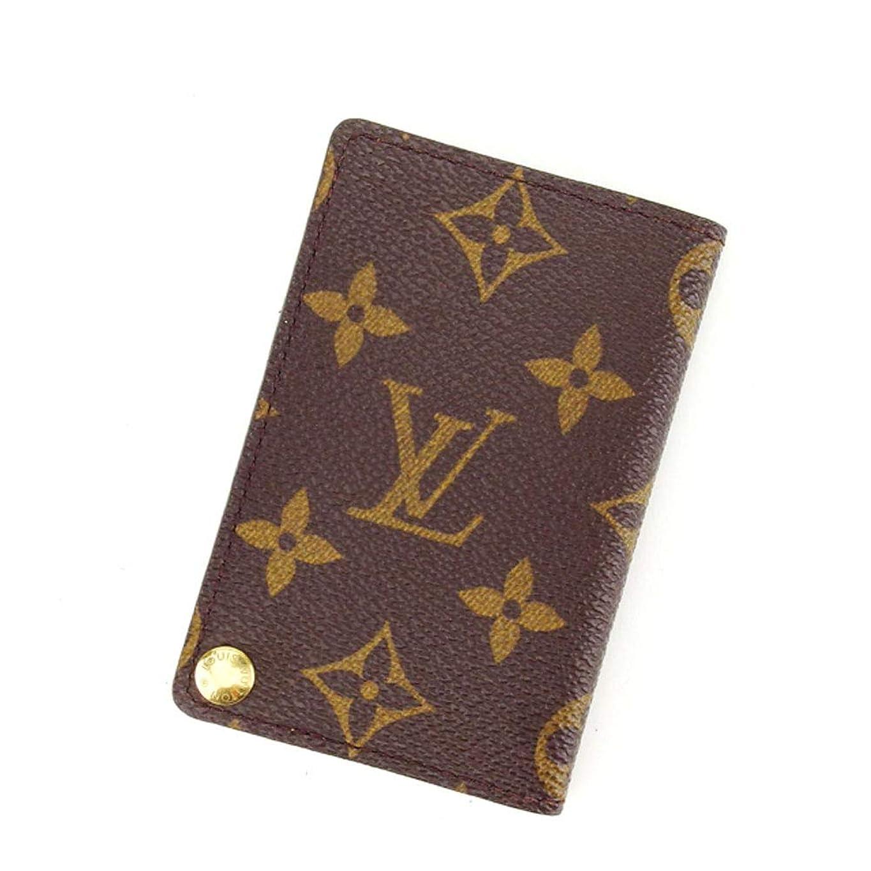 弾薬アダルト覚えている(Louis Vuitton) ルイヴィトン カードケース 名刺入れ メンズ可 ポルトカルトクレディプレッシオン M60937 モノグラム 中古 L581