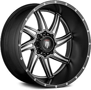 22 Inch American Truxx AT162 Vortex 22x12 6x135-44mm Black/Milled Wheel Rim