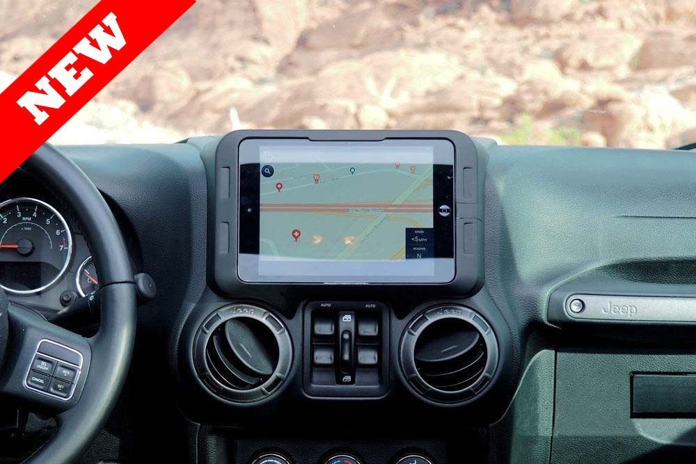 "8/"" Screen Carrichs15-18 Ford F150 F250 F350 iPad Mini 1 2 3 4 Dash Mount"