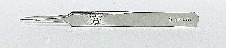 Regine 5-SA - Cheap mail order shopping Super Fine Tweezer 2021 new Points Antimag Straight Tip