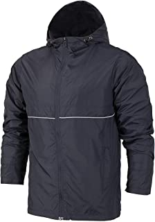 Mens Rain Jacket Waterproof Windbreaker Lightweight Hiking Jackets with Hood