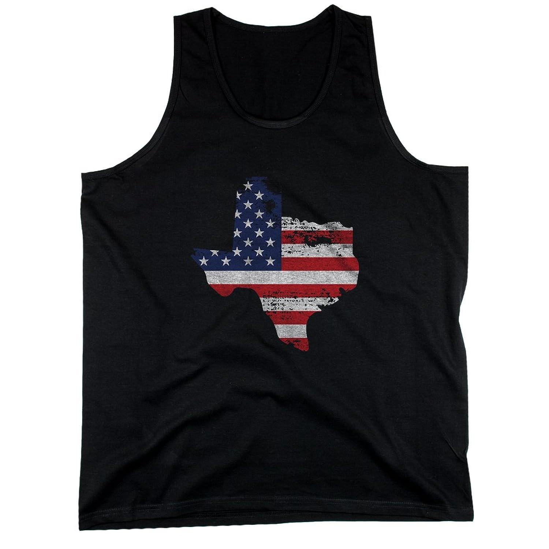 365 Printing TX State USA Flag Men's Tank Top Texas American Flag Tanks