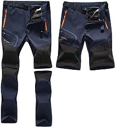 Pantalon Outdoor Homme Printemps Été Mince Coupe-V