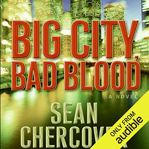 Big City, Bad Blood  audiobook cover art
