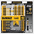 DEWALT Screwdriver Bit Set, Impact Ready, FlexTorq, 40-Piece (DWA2T40IR), Black/Silver Impack Ready FlexTorq Screw Driving Set, 40-Piece from Dewalt