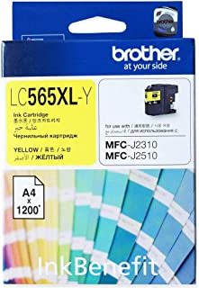 Brother Lc 565xl Ink Cartridge Yellow