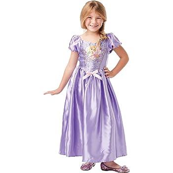 Rubies 641034 Disfraz oficial de princesa Disney Rapunzel clásico ...