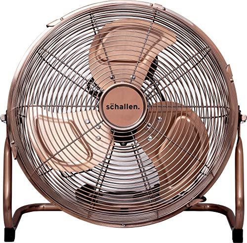 Industrial Fan with 3 speed 3-Speed Pedestal Fan Powerful 50W Copper Motor Ecolighters 16 Chrome Oscillating Fan Adjustable Commercial Chrome Fan High Velocity Metal