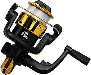 ZANLURE 5.2:1 3BB Spinning Fishing Wheel L/R Handle Saltwater Freshwater Fishing Reel
