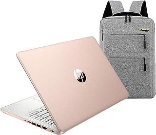 2020 HP 14 inch HD Laptop, Intel Celeron N4020 up to 2.8 GHz, 4GB DDR4, 64GB eMMC Storage, WiFi...