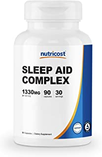 Nutricost Sleep Aid Complex 1330mg Serving (90 Capsules)