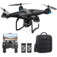 Holy Stone HS120D GPS Drone with Camera for Adults 1080p HD FPV, Quadcotper with Auto Return...