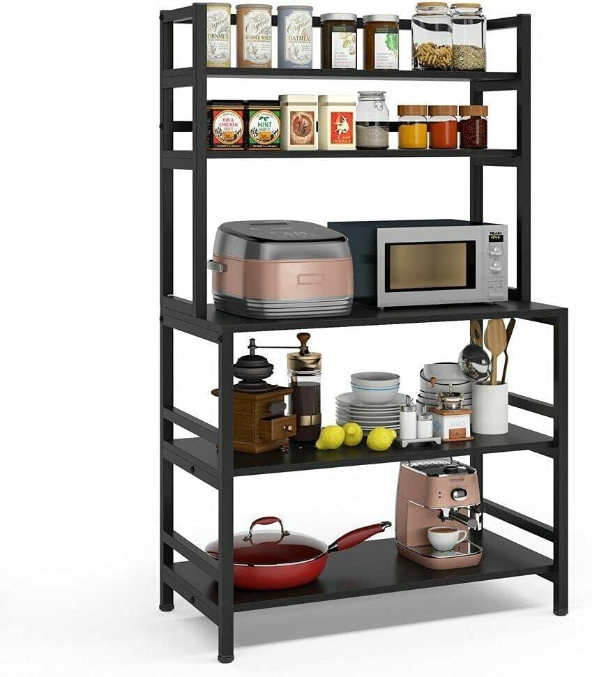 Award LCSA Metal Shelves Freestanding Bakers National products Microwave Cart Stora Rack