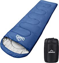 Qomolo Saco de Dormir para Acampar, Sacos de Dormir Rectangulares Extremadamente Ligero Portátil, Ideal para Montañism, Excursionismo, Senderismo, Mochilero, para Adultos y Niños (220 * 80cm),1000g