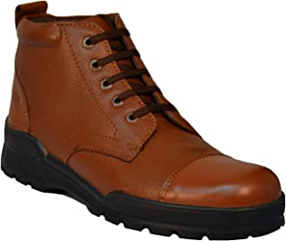 Tsf-Police Lace Up Boot (Tan)