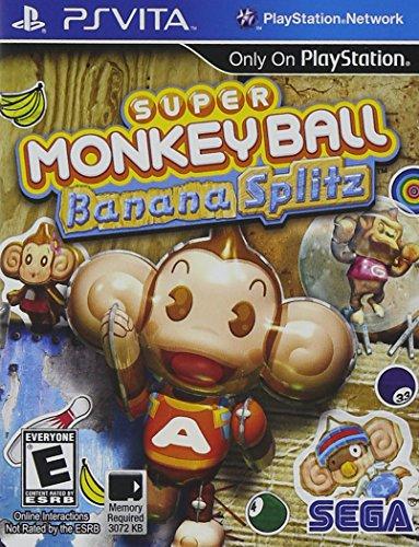 sega ps vita games Super Monkey Ball Banana Splitz - PlayStation Vita