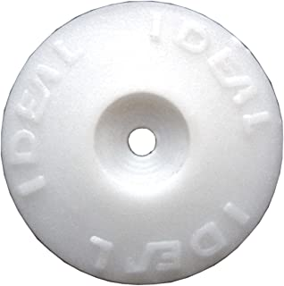 Ideal Security Inc. SKPHC Plastic Cap Washers for Nails or Screws Box of 500, 7/8 inch, White