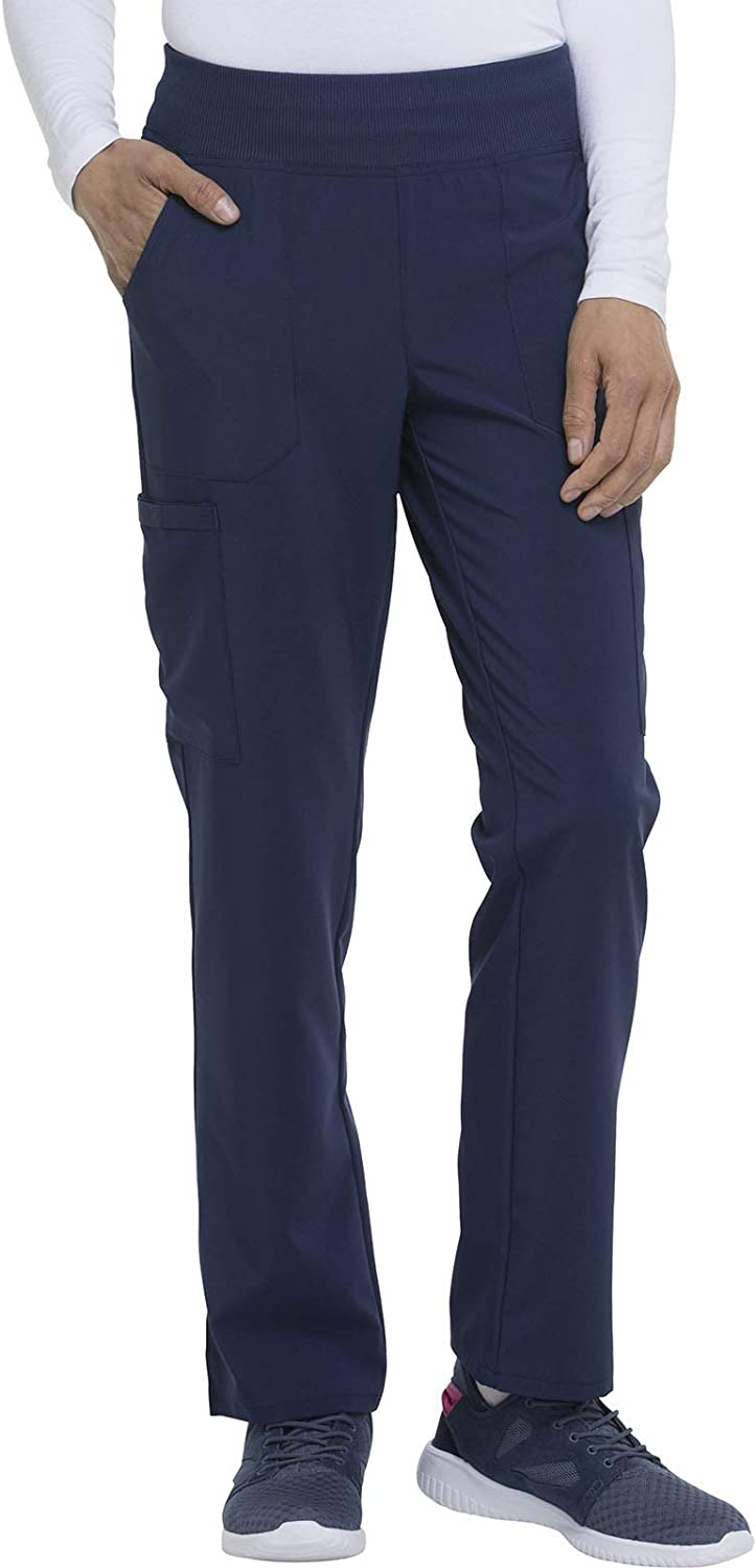Dickies EDS Essentials Women Scrubs Gifts Pant Tapered Le Houston Mall Natural Rise