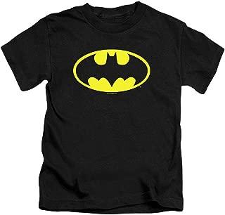 Juvenile Batman Classic Logo T Shirt & Stickers