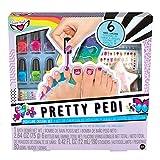 Fashion Angels Pretty Pedi Pedicure Set- Spa Gift Set For Girls , Unicorn Magic Nail Gift Set